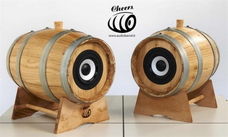 Audio Barrel diffusori passivi