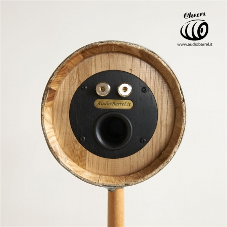 Audiobarrel - botti trasformate altoparlanti