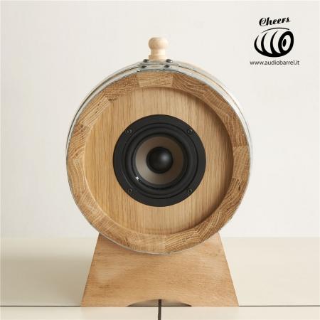 Cheers di Audiobarrel - wine speakers
