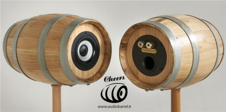 Cheers di Audiobarrel - Diffusori a botte, casse a botte, altoparlanti