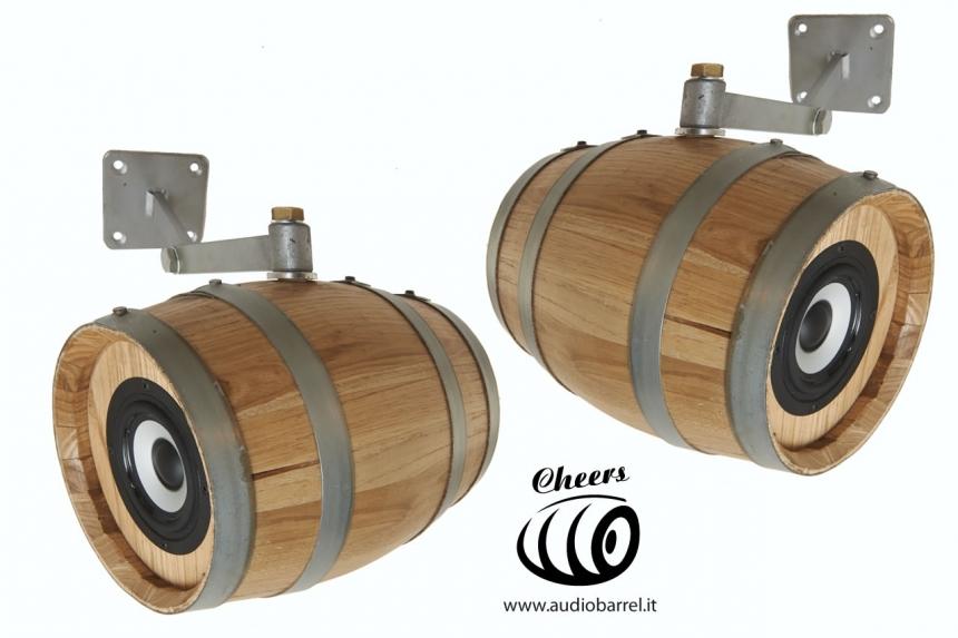 Cheers di Audiobarrel - Diffusori Audio Botti Acustiche